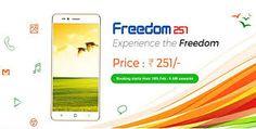 sandy: Freedom 251 World's cheapest smart phone