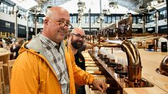 Rodrigo Meneses and I at Mercado da Ribeira in Lisbon - via Bizarre Foods: Lisbon, Portugal | Andrew Zimmern traveled to Lisbon, Portugal, to check out its impressive food scene. Go behind the scenes with Andrew to get his take on the food, people and amazing culture of Lisbon.