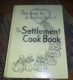 the settlement cookbook 1943 | Vintage One Of a Kind Settlement 1941 Cook Book by myabbiesattic My oldest book!!!!