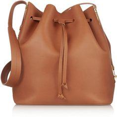 Sophie Hulme Extendable matte-leather bucket bag
