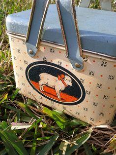 Antique Tin Box by emporium129 on Etsy