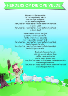 Herders op die ope velde Preschool Songs, Preschool Learning, Teaching, Grade R Worksheets, Dune, Christian Greetings, Finger Gym, Afrikaanse Quotes, Rhymes Songs