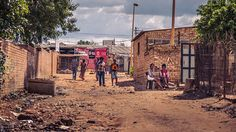 Walking around the colourful South African townships, Langa in Cape Town and Soweto in Johannesburg. Slums, Cape Town, South Africa, Landscapes, Street View, Behance, Places, Modern, People
