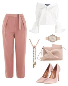 """""""Untitled #321"""" by nastiazaporozhchenko ❤ liked on Polyvore featuring Topshop, Jacquemus and Michael Kors"""