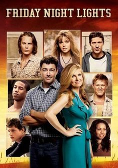 Enjoyed a few episodes of this-  Friday Night Lights (2006); It's not on anymore here.