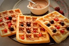 Crepes, Waffles, French Toast, Sweets, Chicken, Breakfast, Desserts, Food, Morning Coffee