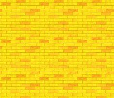 Wizard of Oz - Yellow Brick Road by JoyfulRose fabric by joyfulrose on Spoonflower - custom fabric