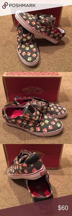 Vans Chima Ferguson Nintendo Mushroom sneakers New in box. Super Mario Bros. grey/white Vans Shoes Sneakers