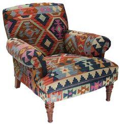 Folding Chairs With Padded Seats Western Furniture, Rustic Furniture, Living Room Furniture, Furniture Design, Chair Upholstery, Upholstered Furniture, Deco Boheme, Southwest Decor, Western Decor
