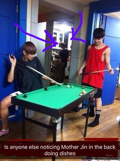 Can we also talk about how Taehyung is rocking those pink socks? XD