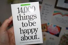 14,000 things to be happy about (from Google Images)