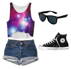 """""""isabella's second modern outfit"""" by havenwest on Polyvore featuring Converse and modern"""