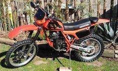 Moto Honda 1983