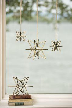 Bronze Moravian Star - Large Star Ornament