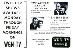 #1955 #WGN #WGN-TV #Chicago #Illinois #Television Magazine