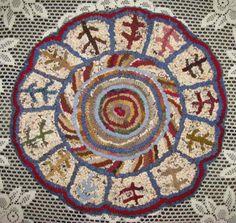 spiral chair mat
