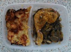 Dietní kuřecí stehno se žampiony Tofu, Meat, Chicken, Author, Cubs