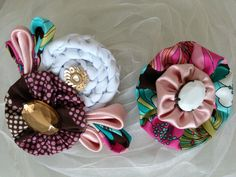 The Brooch/pin and the hairpin!!! For a cute little girl!!!