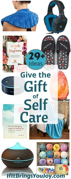 Give the gift of self-care, or treat yourself! The best budget-friendly gift ideas to help make self-care a priority. All of these gift ideas are among Amazon's most popular products ordered as gifts. Perfect for #MothersDay or any gift-giving occasion. #giftguide #selfcare #mom