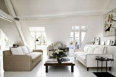 Wohnzimmer Dachschräge Wohnung Einrichten Ideen Wohnzimmer Ideen, Einrichten  Und Wohnen, Wohnung Einrichten Ideen,