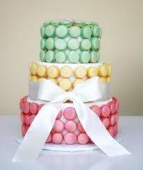 Resultado de imagen para imagenes de tortas con macarons
