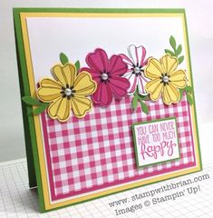 Flower Shop, Yippee-Skippee, Stampin' Up!, Brian King