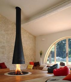 Amazing Indoor Fireplaces on Pinterest | Fireplaces, Stone Fireplaces ...