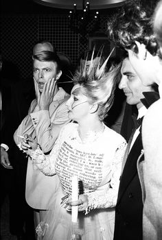 Bowie with Jordan at Just A Gigolo party, 31st Cannes Film Festival, 23 May 1978.
