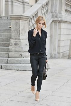 Autumn Style Inspiration :Leather Weather :: This is Glamorous