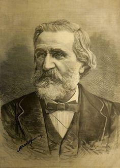 Portrait of Verdi, from Verdi e Otello. Numero unico pubblicato dalla Illustrazione Italiana (Milan, [1887]) British Library 1872.c.15