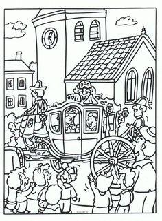 1000+ images about Koningsdag - Kleurplaten on Pinterest ...