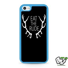 Eat The Rude Hannibal iPhone 5C Case