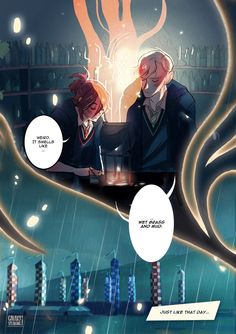 Amortentia, a Scorpius / Rose comic : page II / VI