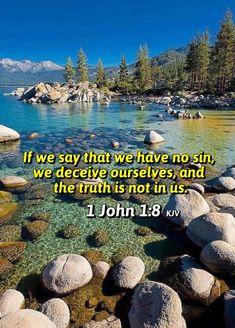 1 John 1:8 KJV