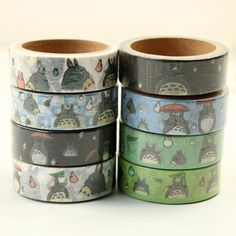Washi Totoro via Aliexpress