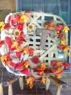 Fall tobacco basket