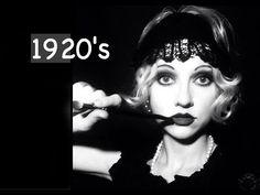 Great Gatsby 1920's Inspired Makeup & Hair Tutorial   Feat. Artist Lasse Brogaard - YouTube