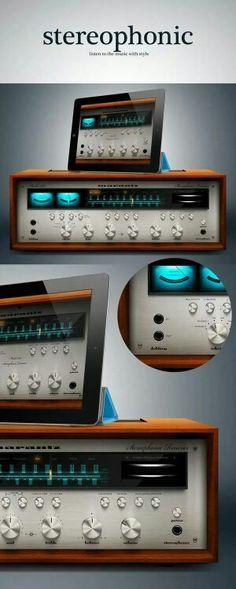 Marantz Vintage Audio Audiophile HiFi Stereo Design