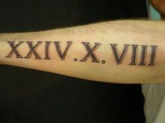 ideas tattoo fonts for men numbers roman numerals Tattoo Font For Men, Foot Tattoos For Women, Tattoo Fonts, Tattoos For Guys, Script Tattoos, Roman Numeral Tattoo Font, Roman Numbers Tattoo, Roman Numerals, Arrow Tattoos