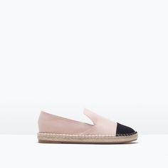 Pointed Espadrilles - #Zara