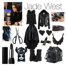 """""""Jade West Outfit """" by hannah-is-super-amazing ❤ liked on Polyvore featuring moda, OXO, Kat Von D, Oh My Love, Naughty Monkey, Linea Pelle, Dolce Vita, sweet deluxe, Victorious e elizabethgillies"""