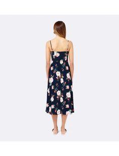 Abigail Slip Dress Budding Rose Print - Womens Fashion | Forever New