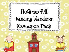 Wonderful resource to the new CCSS McGraw Hill Reading Wonders Series for 1st grade.