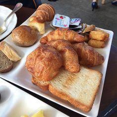 Yummy breakfast. Yummy breads