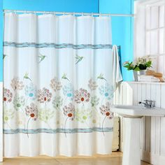 Shop for Windsor Home Springtime Printed Shower Curtain with Buttonhole. Free Shipping on orders over $45 at Overstock.com - Your Online Bath