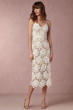 Frida Dress - lace reception dress.  Short wedding dress, lace gown, beach wedding dress