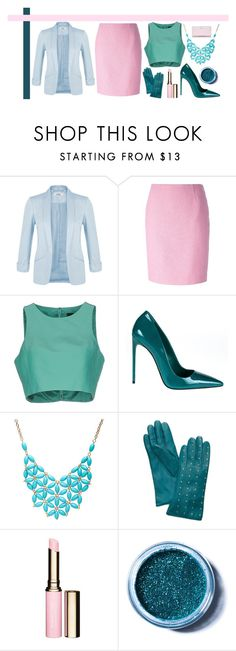 """Untitled #252"" by romi-kella on Polyvore featuring Miss Selfridge, Moschino, TIBI, Miu Miu, Alexa Starr, Tory Burch, Clarins, Lime Crime and Kate Spade"