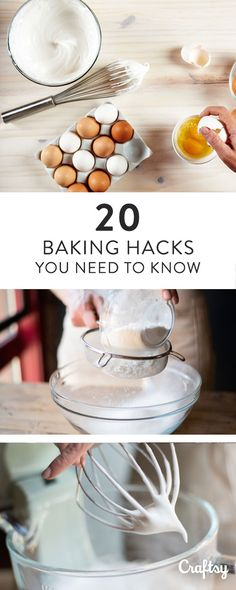 From slicing cheesecake with ease to quickly ripening bananas and even making DIY buttermilk, save time and frustration with 20 hacks for baking!