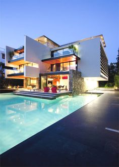 Sumptuous contemporary residence in Greece by architecture firm 314 Architecture Studio