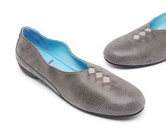 Thierry Rabotin Grace Grey Flats